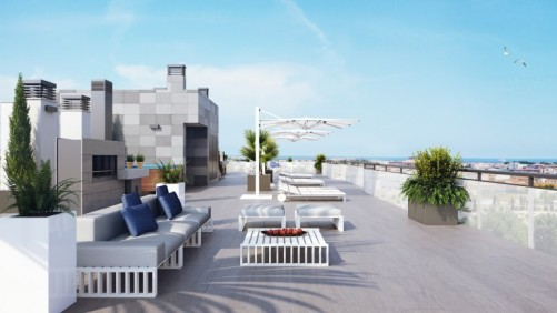 2 Bedroom Apartments with Rooftop Pool